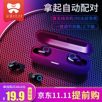 最便宜的真無線、藍牙5.0!iPhox 愛??慫?Q1 藍牙5.0 真無線藍牙耳機