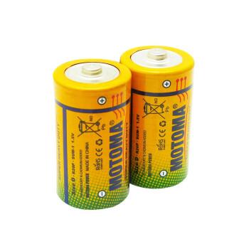京东商城:雷欧(motoma) 1号碳性电池R20大号电池2节装6.8元包邮(需用券)