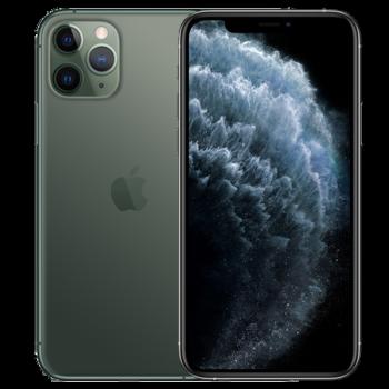 Apple苹果11pro 手机 小屏幕智能手机 双卡双待 4G手机【白条24期免息可选】  暗夜绿色 64GB(白条24期免息套装)