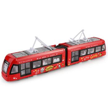 京东商城:豆豆象 火车玩具公交电车红色39元包邮