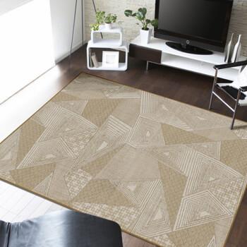 海马地毯 现代简约 客厅餐厅卧室书房现货地毯 Q140-02 Q140-02 2M*3M