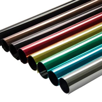 冰阳 阳台玻璃隔热防晒膜 窗户单向透视银光隔热贴 1.52x1米