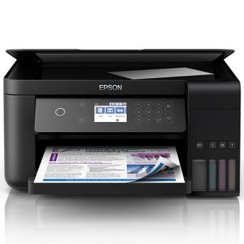 EPSON 爱普生 L6168 墨仓式 彩色无线多功能一体机 +凑单品