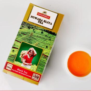 斯里兰卡原装进口! SPOONBILL 锡兰红茶 诺瑞莉雅产区100g
