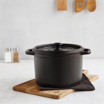 京东PLUS会员: 京造 JZTCSG 陶瓷砂锅 3.2L