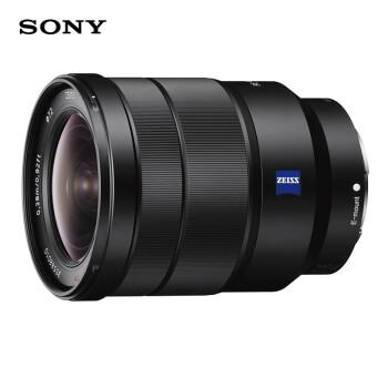索尼(SONY)Vario-Tessar T* FE 16-35mm F4 ZA OSS全画幅蔡司广角变焦微单相机镜头 E卡口(SEL1635Z)
