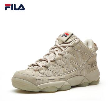 18年新款!FILA斐乐官方 SPAGHETTI 男子复古篮球鞋