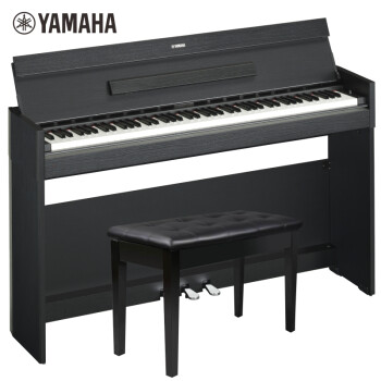 雅马哈(YAMAHA)智能电钢琴YDP-S54B数码钢琴88键重锤三踏板专业钢琴官方标配+全套配件(全新款)