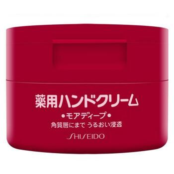 80.73元  SHISEIDO 资生堂 弹力尿素护手霜 100g *3件