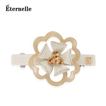 法国Eternelle采用施华洛世奇水晶发饰品 欧美风尚头饰边夹女顶夹 现货