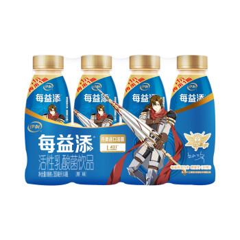 京东商城:伊利 每益添 原味乳酸菌 350ml*4瓶*6件+畅轻 玫瑰荔枝味 酸奶 100g*4杯*3件82.08元(需用券)