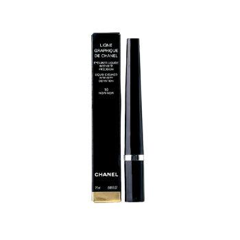 Chanel香奈儿双头粉质眉笔 眼线笔 眼线液 精准液体眼线液笔 10#黑色2.5ml
