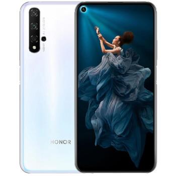 新品发售、31日公布: HONOR 荣耀 20 智能手机 8GB+128GB 冰岛白