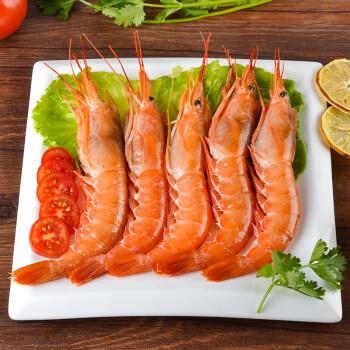 阿根廷直供:海买冷冻阿根廷红虾L1 360g 5-7只 盒装
