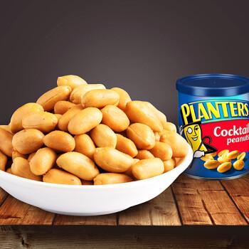 美国进口 Planters绅士牌 美式盐焗鸡尾花生184g*10罐