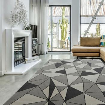 海马地毯 现代简约 客厅餐厅卧室书房现货地毯 R9979A-N4069 2Mx3M