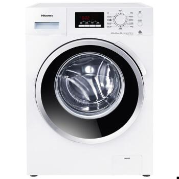 海信XQG80-S1208FWS 8公斤全自动变频滚筒洗衣机