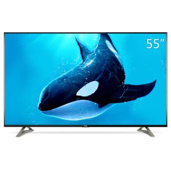 支持HDR!TCL D55A620U 55英寸4K分辨率观影王电视