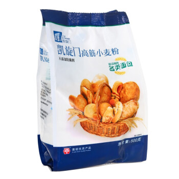 凯旋门 高筋小麦粉 面包粉 面粉 烘焙原料原材料 500g*3