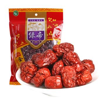 绿帝 沧州金丝枣无核枣金丝小枣仙枣红枣大枣沧州特产500g