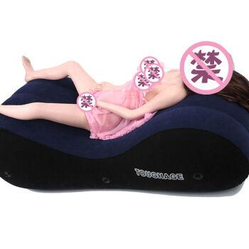 骇客 性爱椅爱爱椅合欢床车震垫夫妻房事充气sm另类玩具性用品情趣床垫 骑士性爱垫+手脚铐各一对