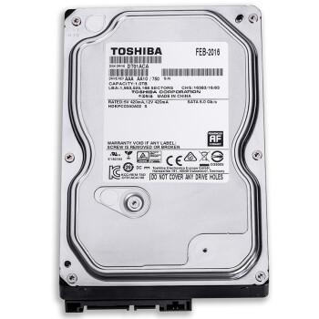 TOSHIBA东芝DT01ACA100 1TB 台式机硬盘 7200转32M 279元