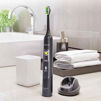 力博得 V2 声波电动牙刷:31000次/分,全身水洗液晶屏幕