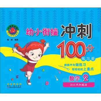 幼小衔接冲刺100分练习册:数学2(20以内加减法)