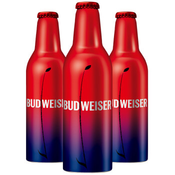 兄弟礼物敬真我:Budweiser 百威 啤酒 355ml*6瓶
