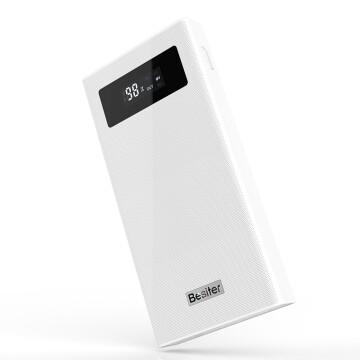 Besiter 倍斯特 20000毫安移动电源/充电宝 聚合物电芯 Type-C双向快充 兼容QC3.0/MTK 双输出 数显屏 K6X