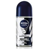 NIVEA 妮维雅 男士黑白出众 爽身走珠液 50ml *2件 39元(合19.5元/件)
