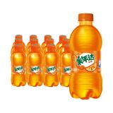 12点、限地区: Mirinda 美年达 橙味汽水 碳酸饮料 300ml*12瓶 17.6元