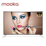 模卡(MOOKA) U55Q81J 55英寸 4K曲面 液晶电视 1899元