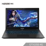 神舟(HASEE)战神Z6-KP5G GTX1050 4G独显 15.6英寸游戏笔记本电脑(i5-8300H 8G 1T+128G SSD)IPS 5099元