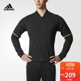 adidas/阿迪达斯 梭织长袖外套夹克 BR5754 黑 下单价209