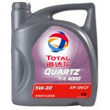 TOTAL 道达尔 快驰4000 高性能机油5W-30 SN/CF级 4L *3件