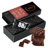 NOVOR 诺梵 纯黑可可脂苦巧克力88% 130g/盒 *10件