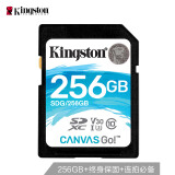 京东PLUS会员:Kingston 金士顿 V30专业版 256GB SD 存储卡 U3 C10 469元包邮(需用券)