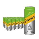 怡泉 Schweppes 无糖零卡 柠檬味 苏打水 汽水饮料 330ml*24罐 整箱装 可口可乐公司出品 *5件 175.6元(需用券,合35.12元/件)