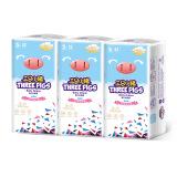 三只小猪Thethreepiggy3D轻薄纸尿裤S码156片(4-8KG) *2件 164.2元(需用券,合82.1元/件)