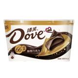 Dove 德芙 分享碗装醇黑巧克力66% 252g