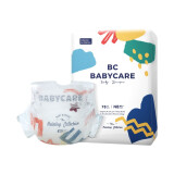 BabyCare艺术大师系列通用纸尿裤NB78片*2件
