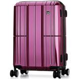 OIWAS爱华仕6176万向轮拉杆箱20英寸紫色