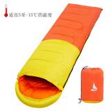 北极狼 (BeiJiLang)睡袋加厚成人户外午休 保暖四季露营便携隔脏单人棉睡袋 37元(需用券)