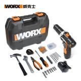 WORX 威克士 WX129.5 家用手电钻工具套装 59件套 299元包邮