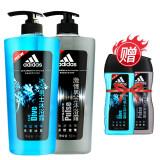 阿迪达斯 Adidas 男士沐浴套装(激情600ml+冰点600ml+激情250ml+冰点250ml) *3件 199.9元(需用券,合66.63元/件)