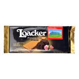 意大利进口 莱家loacker威化饼干黑巧克力味片装威化饼干75g 9.90