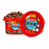 京东PLUS会员:巧乐思黑巧麦丽素桶装夹心巧克力朱古力脆心告白节日送女友儿童礼物零食360g *7件+凑单品 62.51元(合8.93元/件)