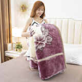 移动专享:流川枫 加厚高密拉舍尔毛毯 150*200cm 约4斤