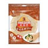 麦西恩(Mission)卷饼全麦口味方便食品早餐饼270G6片装*5件